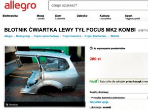 Ogłoszenie z Allegro /Motor