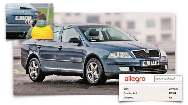 ogłosznie o sprzedaży samochodu /Motor
