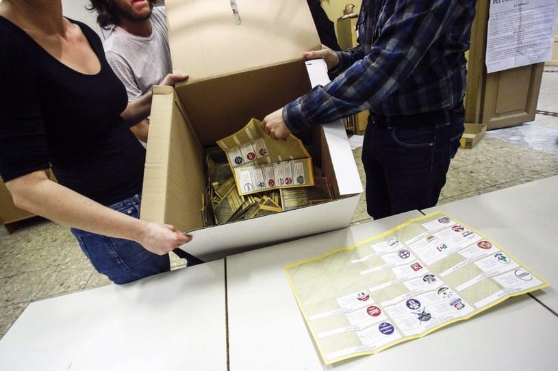 Ogłoszono sondażowe wyniki wyborów we Włoszech /GIUSEPPE LAMI /PAP/EPA