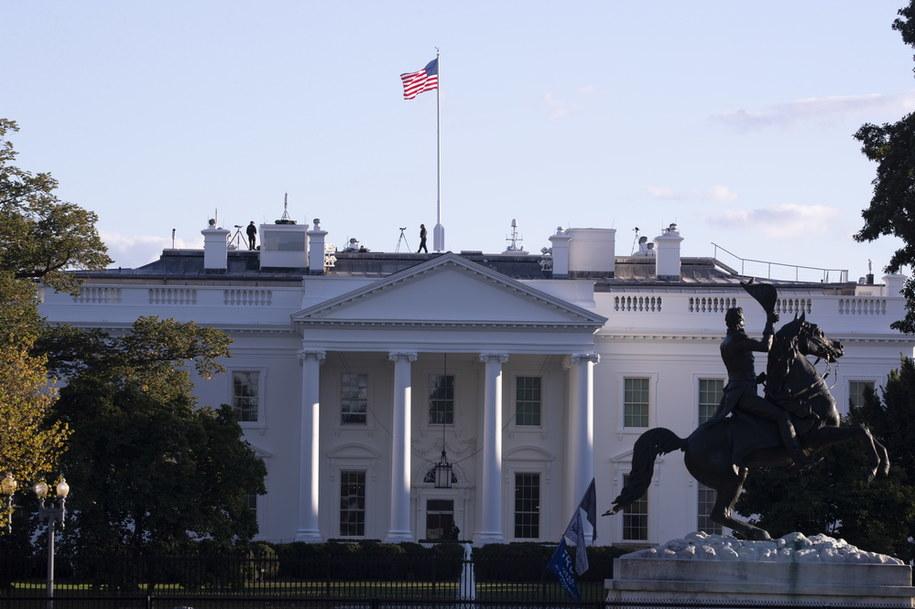 Ognisko koronawirusa w Białym Domu /MICHAEL REYNOLDS    /PAP/EPA