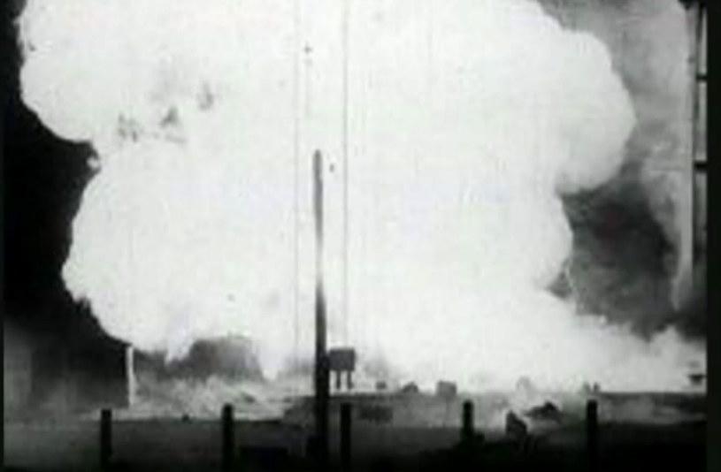 Ognista kula po wybuchu na Bajkonurze była widoczna z odległości 50 km /materiały prasowe
