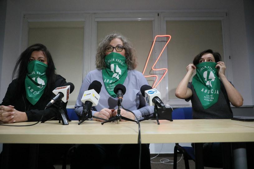 Ogólnopolski Strajk Kobiet reaguje na ruch TK /Jakub Kaminski/East News /East News