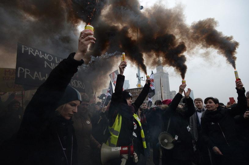 Ogólnopolski Strajk Kobiet / Marcin Obara  /PAP