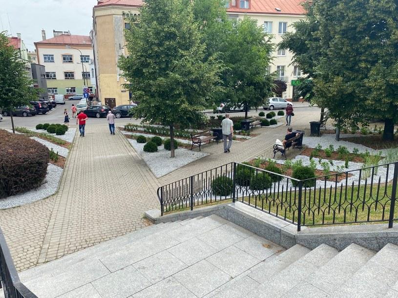 Ogród kieszonkowy w Rzeszowie /Urząd Miasta Rzeszowa