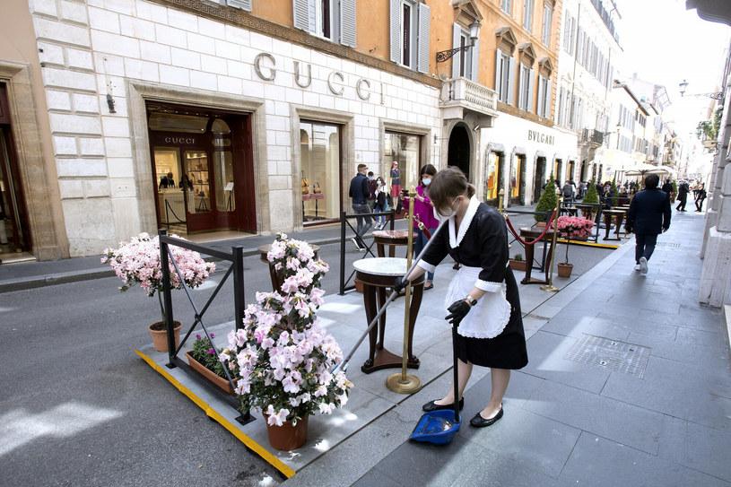 Ogródek restauracyjny w Rzymie /Donatella Giagnori/EIDON/ /Reporter