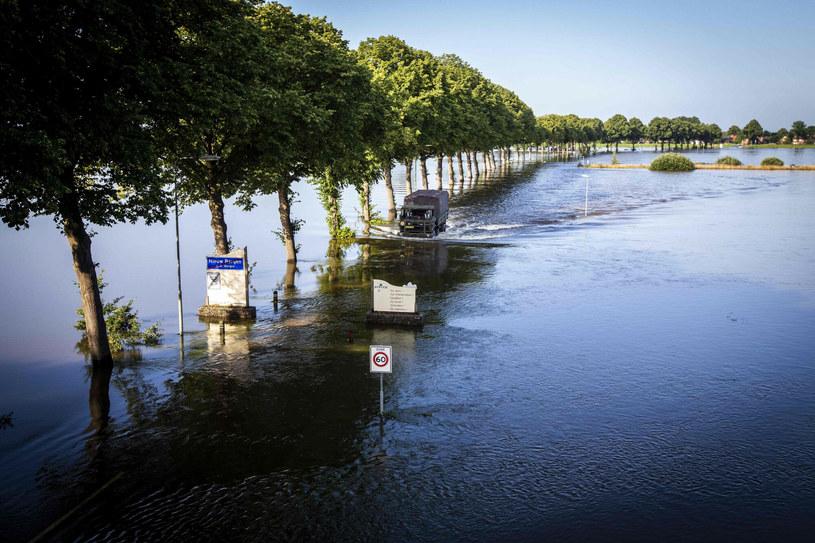 Ogromne powodzie nawiedziły w ostatnich dniach Niemcy, Belgię, Holandię i Austrię /VINCENT JANNINK/AFP /East News