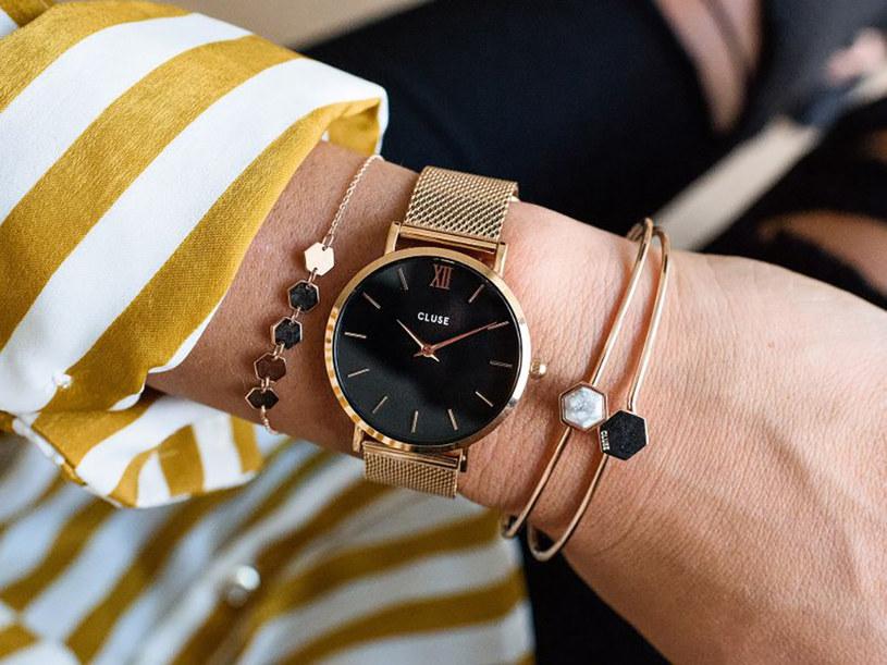 Ogromne znaczenie dla prezencji zegarka ma materiał, z którego został wykonany /materiały promocyjne