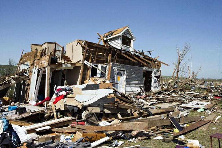 Ogromne zniszczenia /AFP