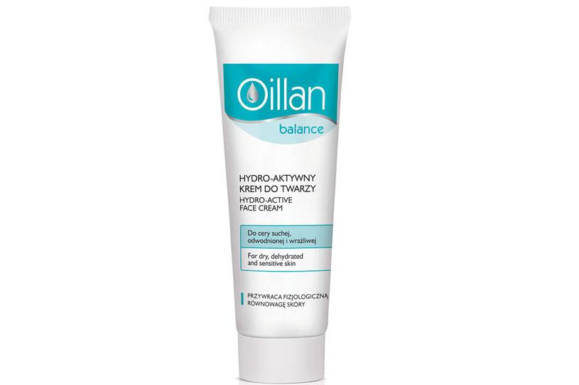 Oillan Balance: Hydro-aktywny krem do twarzy /materiały prasowe