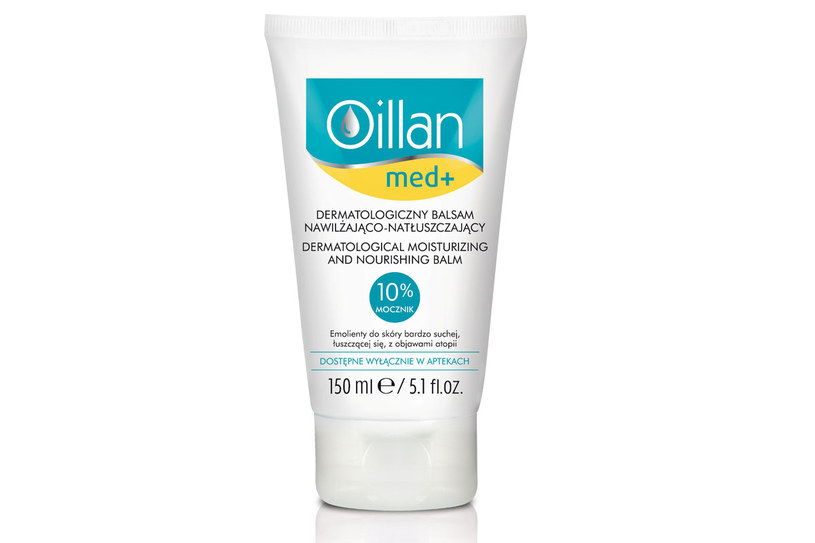 Oillan Med+ Dermatologiczny balsam nawilżająco-natłuszczający /materiały prasowe