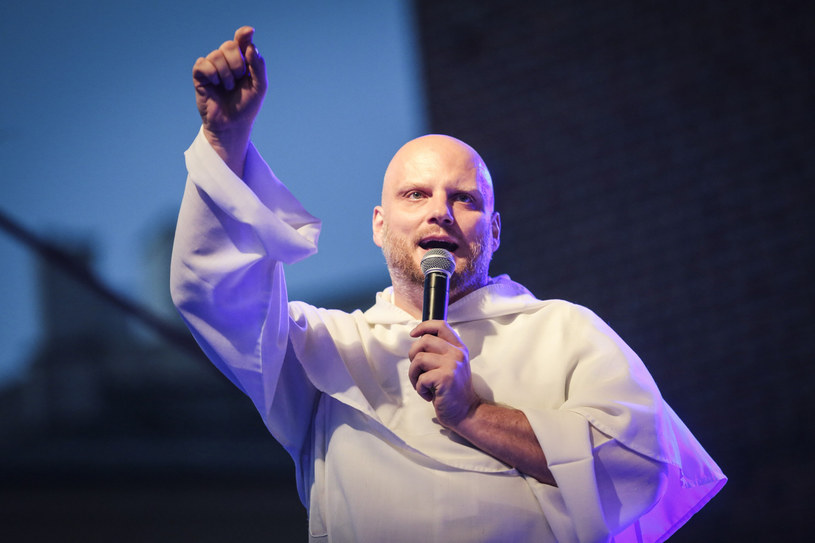 Ojciec Adam Szustak /Beata Zawrzel /Reporter
