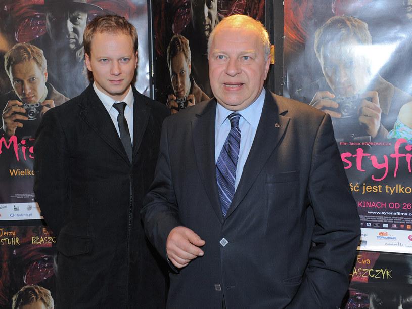 Ojciec i syn, Maciej i Jerzy Stuhr  /Paweł Przybyszewski /MWMedia