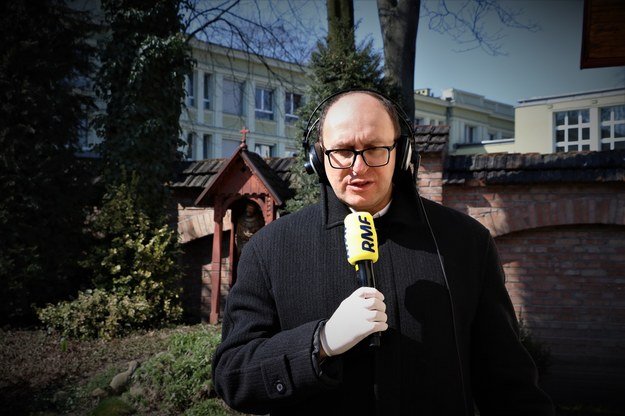 Ojciec Jan Maria Szewek /Jacek Skóra /RMF FM
