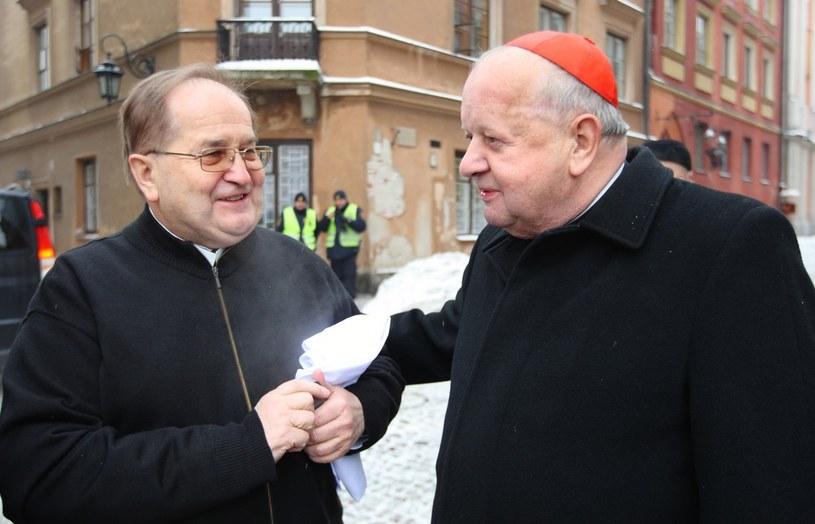 Ojciec Tadeusz Rydzyk i kard. Stanisław Dziwisz /Stanisław  Kowalczuk /East News