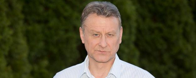 Ojczym Olgierd Nowacki (Jan Monczka) /Agencja W. Impact