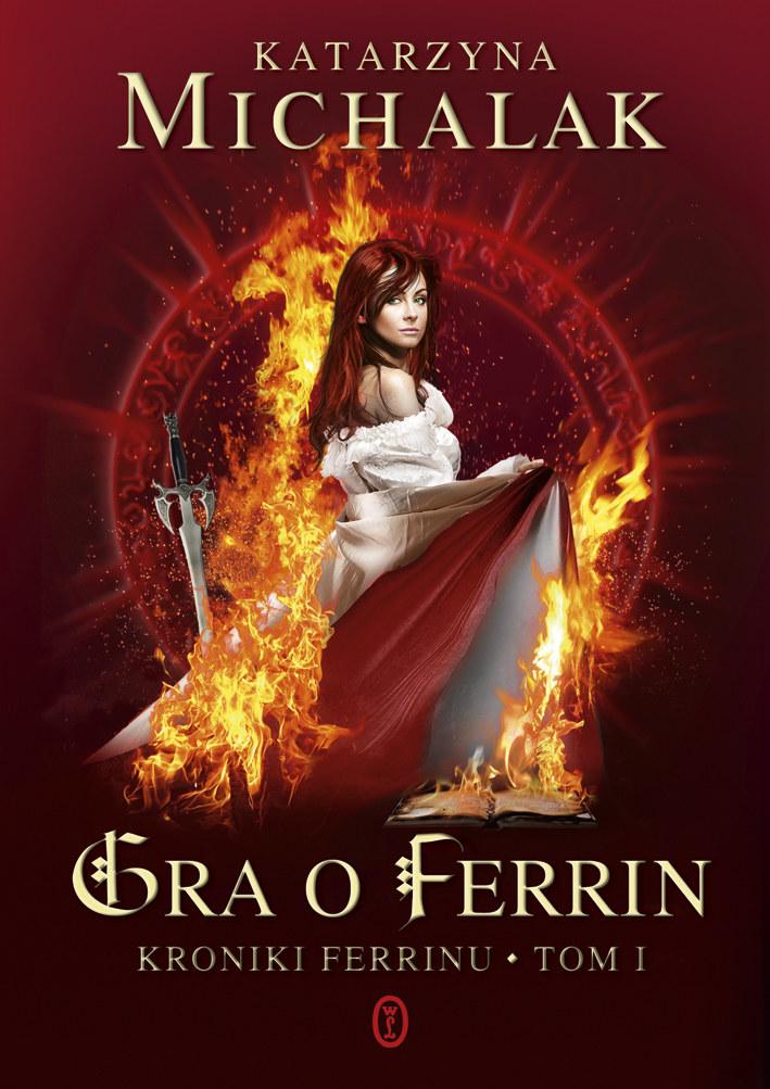 """Okadka książki """"Gra o ferrin"""" /materiały prasowe"""