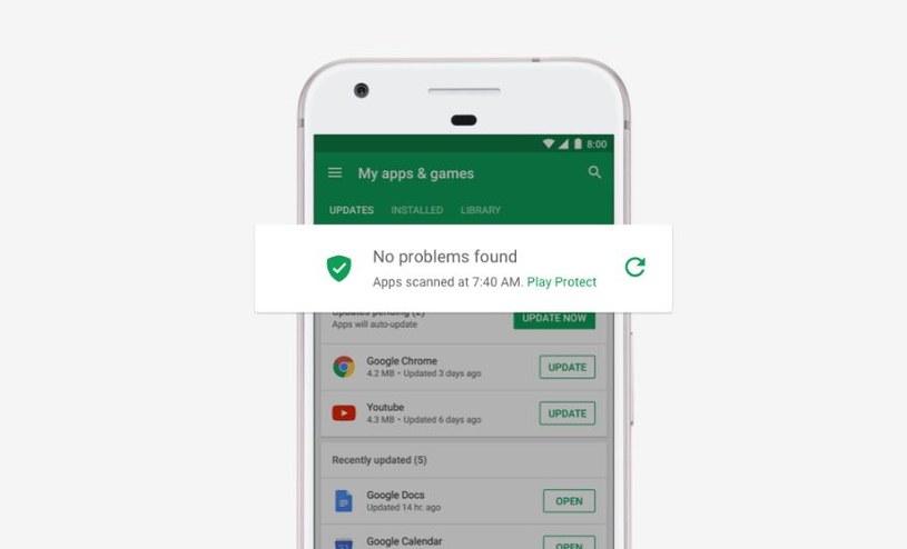 Okazało się, że Google Play Protect można bardzo łatwo oszukać /materiały prasowe