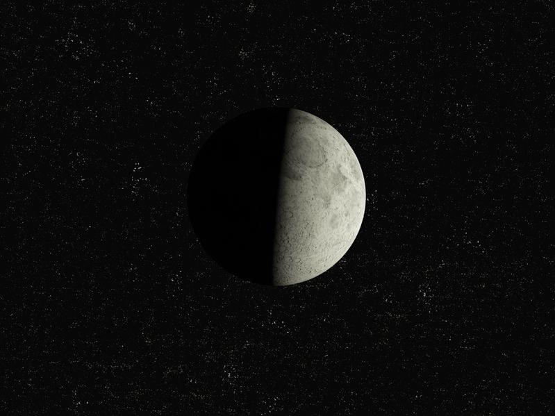 Okazuje się, że kosmicznych zderzeń, które ukształtowały Księżyc było więcej /123RF/PICSEL