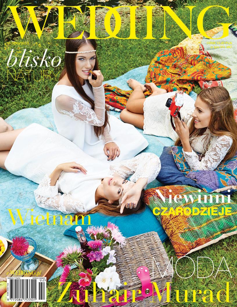 Okłada magazynu Wedding /Wedding