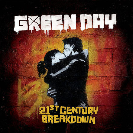 """Okładka albumu """"21st Century Breakdown"""" grupy Green Day /"""