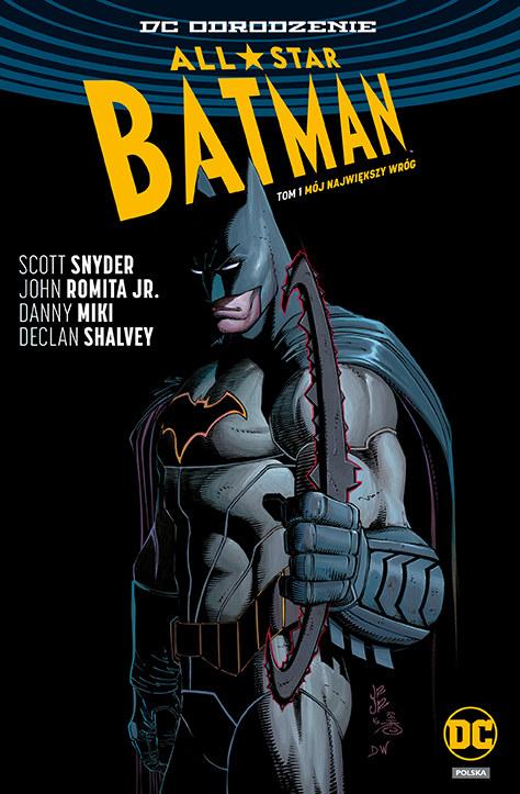 Okładka albumu All-Star Batman /materiały prasowe