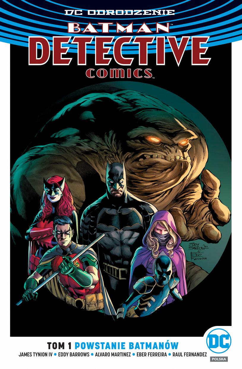 Okładka albumu Batman Detective Comics /materiały prasowe