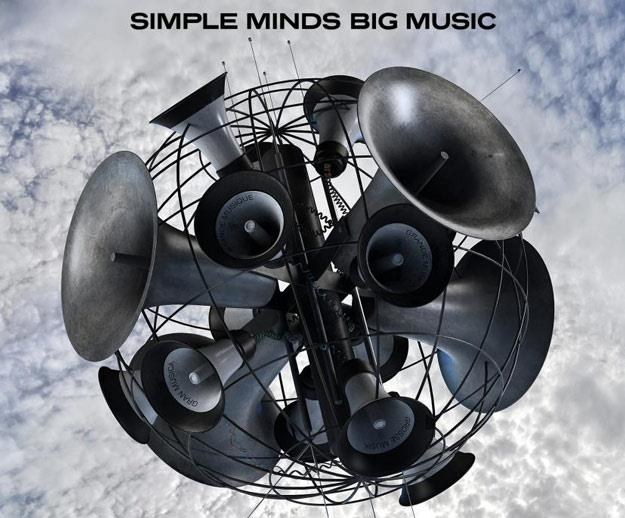 "Okładka albumu ""Big Music"" grupy Simple Minds /"