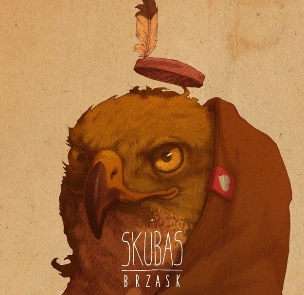 """Okładka albumu """"Brzask"""" Skubasa /"""