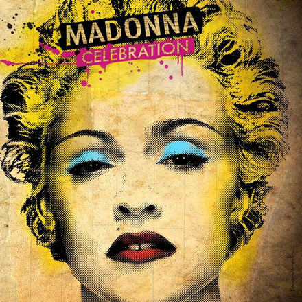 "Okładka albumu ""Celebration"" Madonny /"