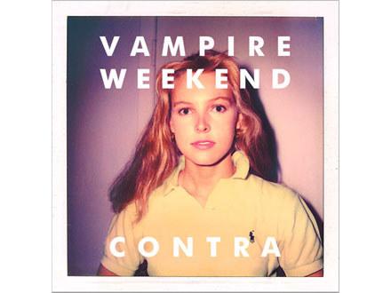 """Okładka albumu """"Contra"""" zespołu Vampire Weekend /"""