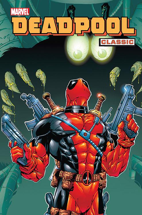 Okładka albumu Deadpool Classic /materiały prasowe