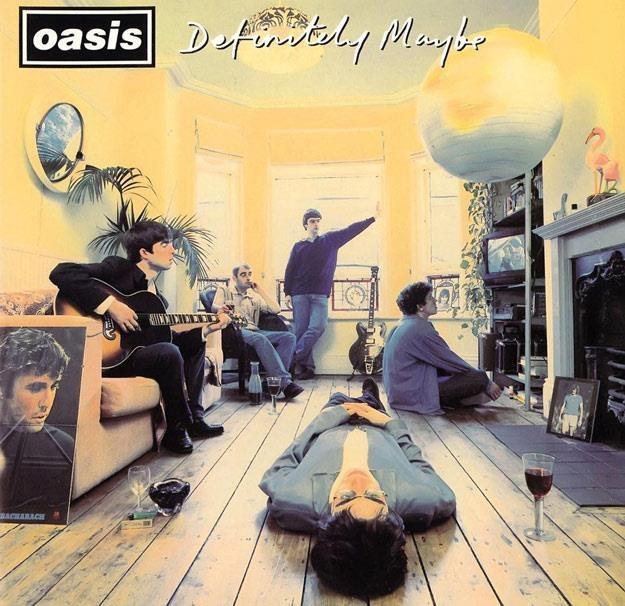 "Okładka albumu ""Definitely Maybe"" Oasis /"