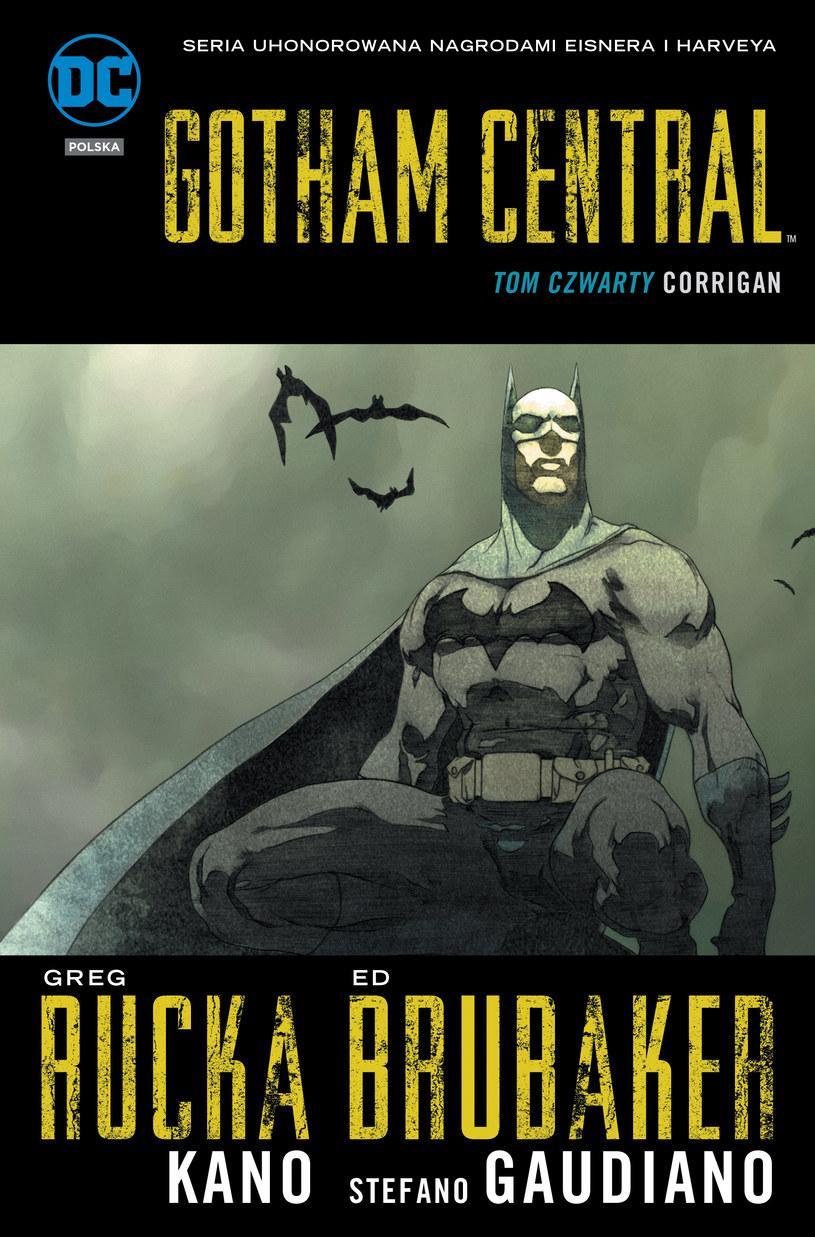 Okładka albumu Gotham Central /materiały prasowe