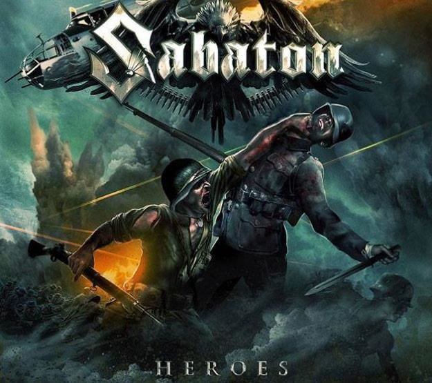 "Okładka albumu ""Heroes"" grupy Sabaton /"