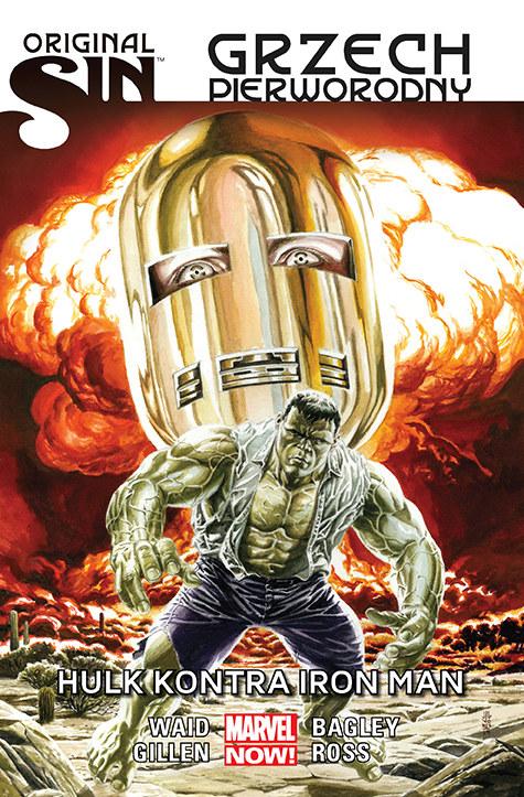 Okładka albumu Hulk kontra Iron Man /materiały prasowe