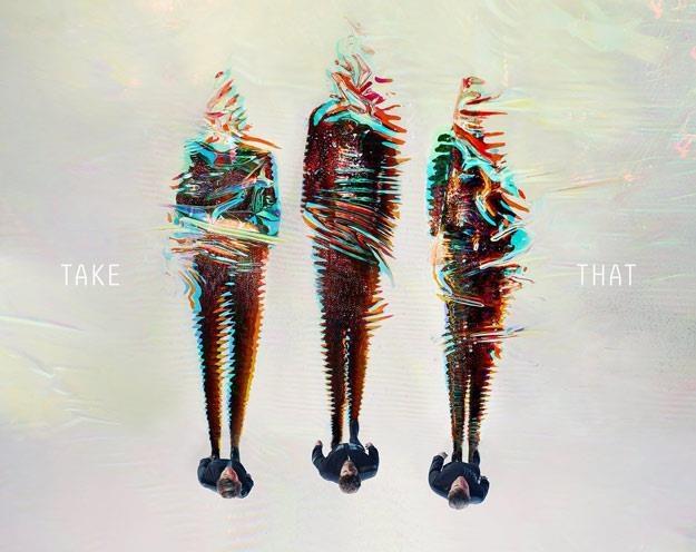 """Okładka albumu """"III"""" grupy Take That /"""