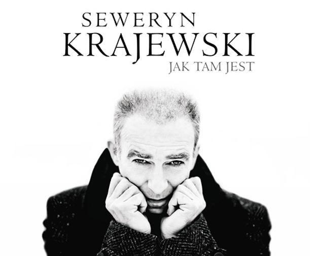 """Okładka albumu """"Jak tam jest"""" Seweryna Krajewskiego /"""
