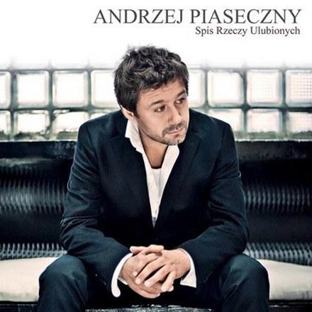 """Okładka albumu """"Spis rzeczy ulubionych"""" Andrzeja Piasecznego /"""