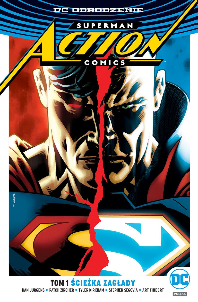 Okładka albumu Superman Action Comics /materiały prasowe