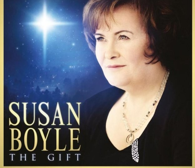 "Okładka albumu ""The Gift"" Susan Boyle /"