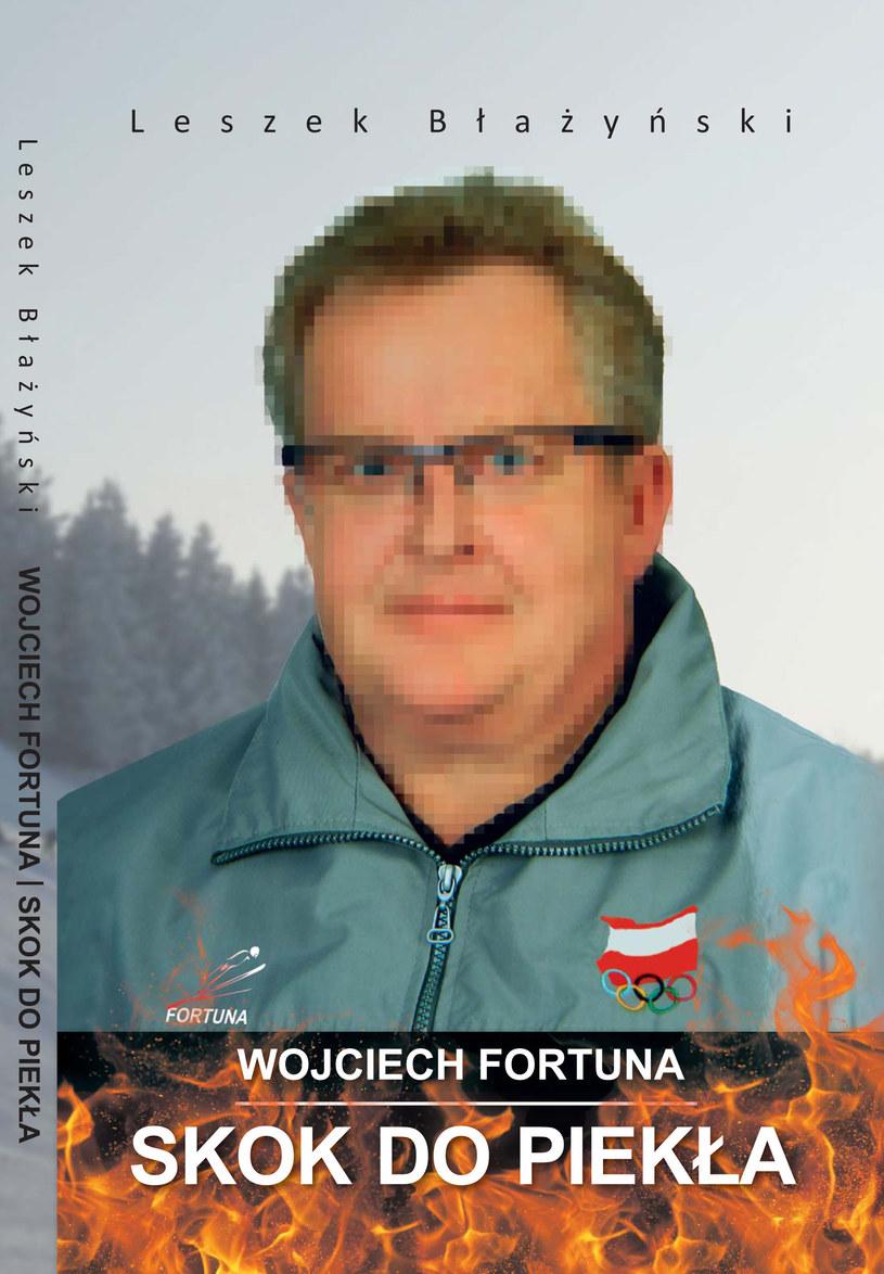 Okładka autobiografii Wojciecha Fortuny. /INTERIA.PL