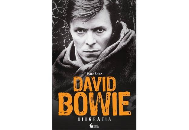 Okładka biografii Davida Bowiego /