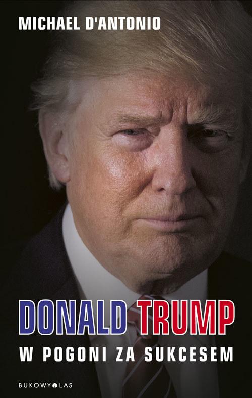 Okładka biografii Donalda Trumpa /