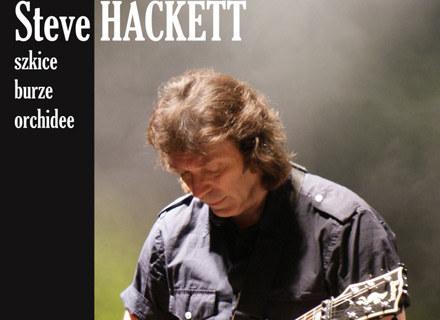 Okładka biografii Steve'a Hacketta /