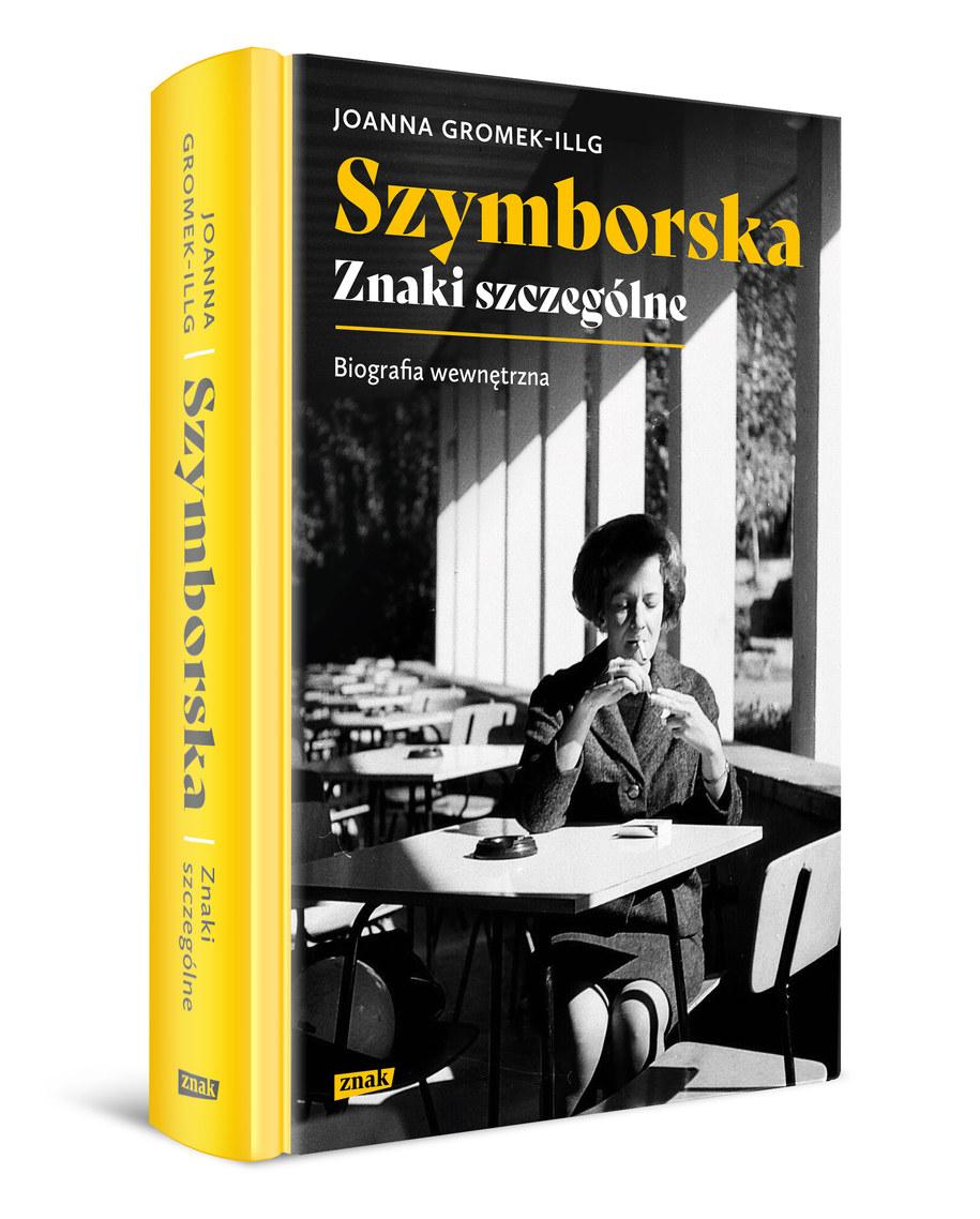Okładka biografii Wisławy Szymborskiej /Materiały prasowe