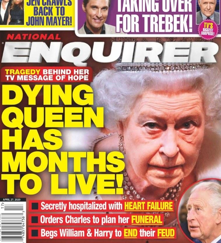 Okładka brytyjskiego tabloidu /materiał zewnętrzny