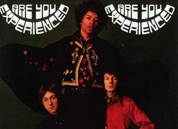 Okładka brytyjskiego wydania debiutu Jimi Hendrix Experience /