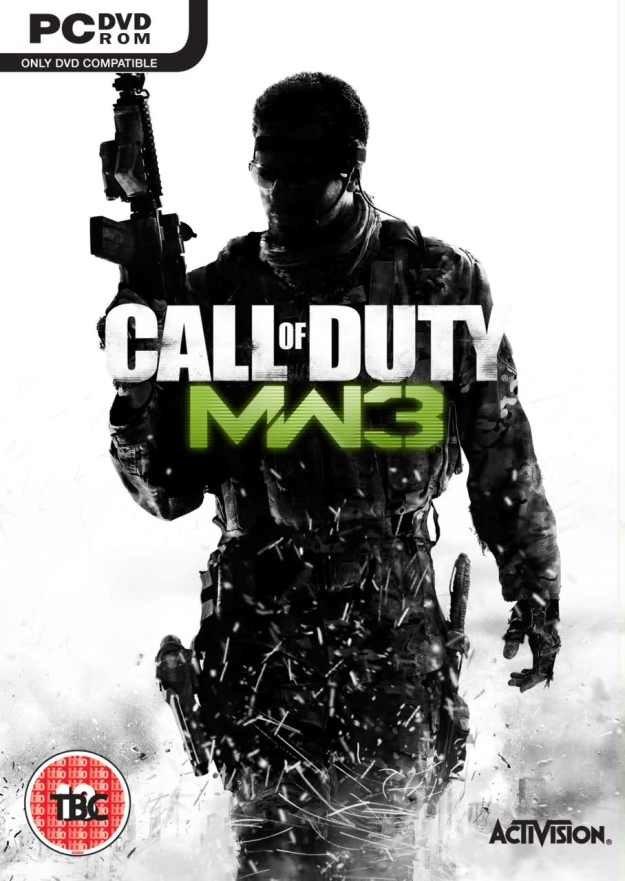 Okładka Call of Duty: Modern Warfare 3 opublikowana na łamach serwisu Kotaku /CDA