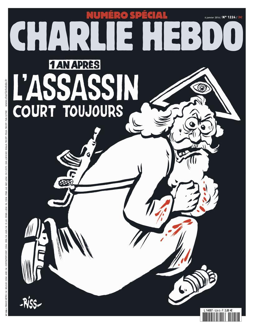 "Okładka ""Charlie Hebdo"" /AFP"
