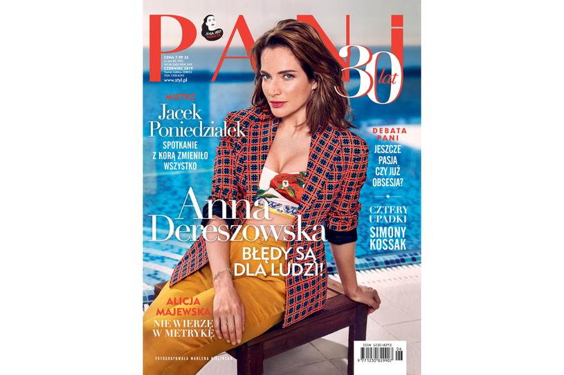 Okładka czerwcowego wydania magazynu PANI /PANI